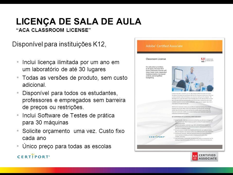 LICENÇA DE SALA DE AULA ACA Classroom License