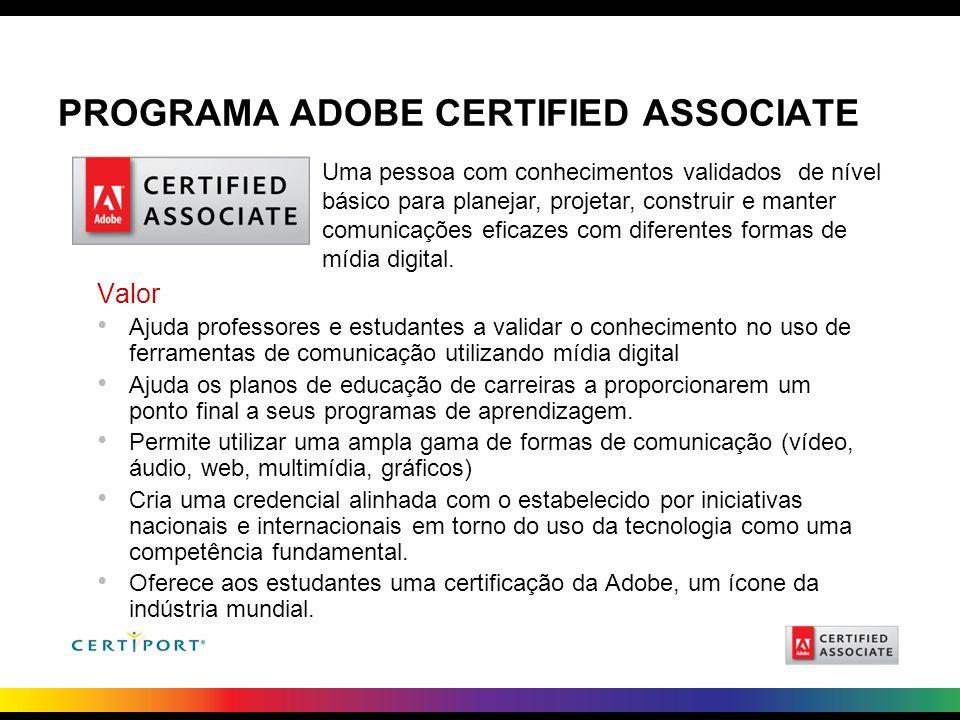 Programa Adobe Certified Associate