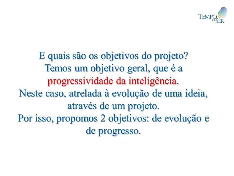 E quais são os objetivos do projeto