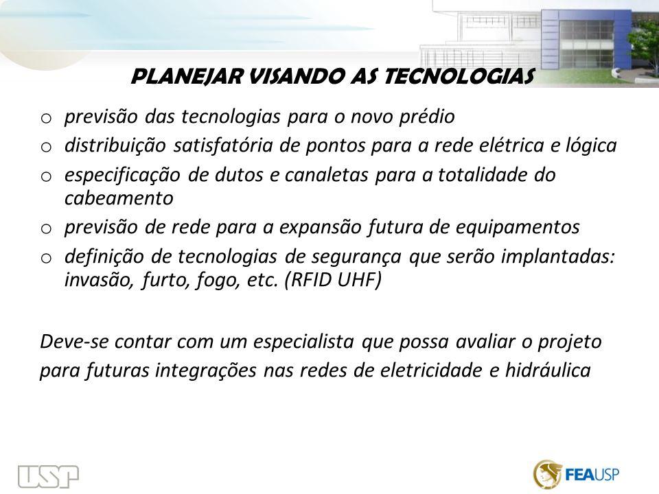 PLANEJAR VISANDO AS TECNOLOGIAS