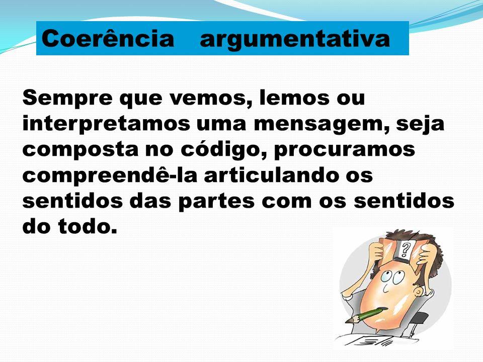 Coerência argumentativa