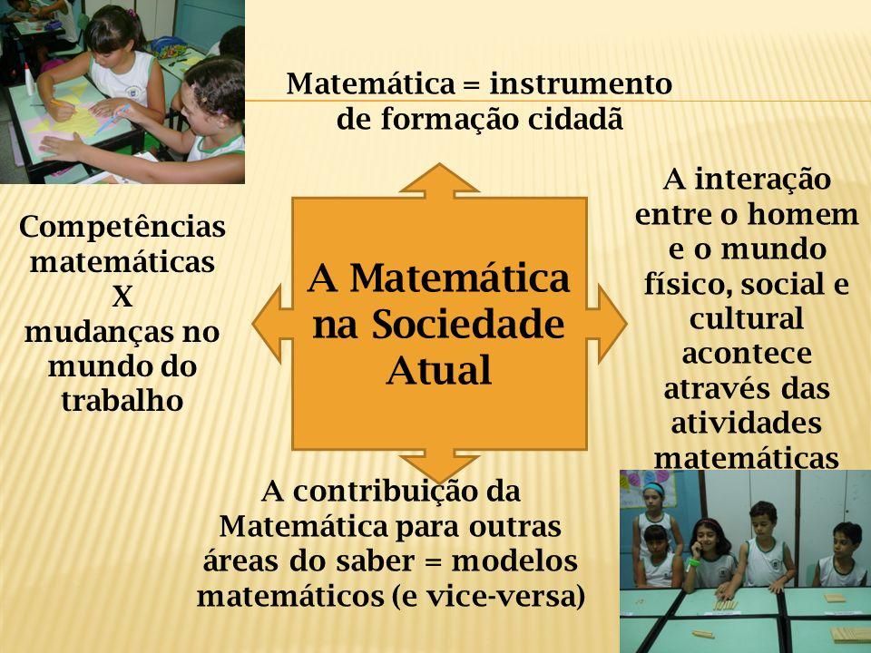 A Matemática na Sociedade Atual