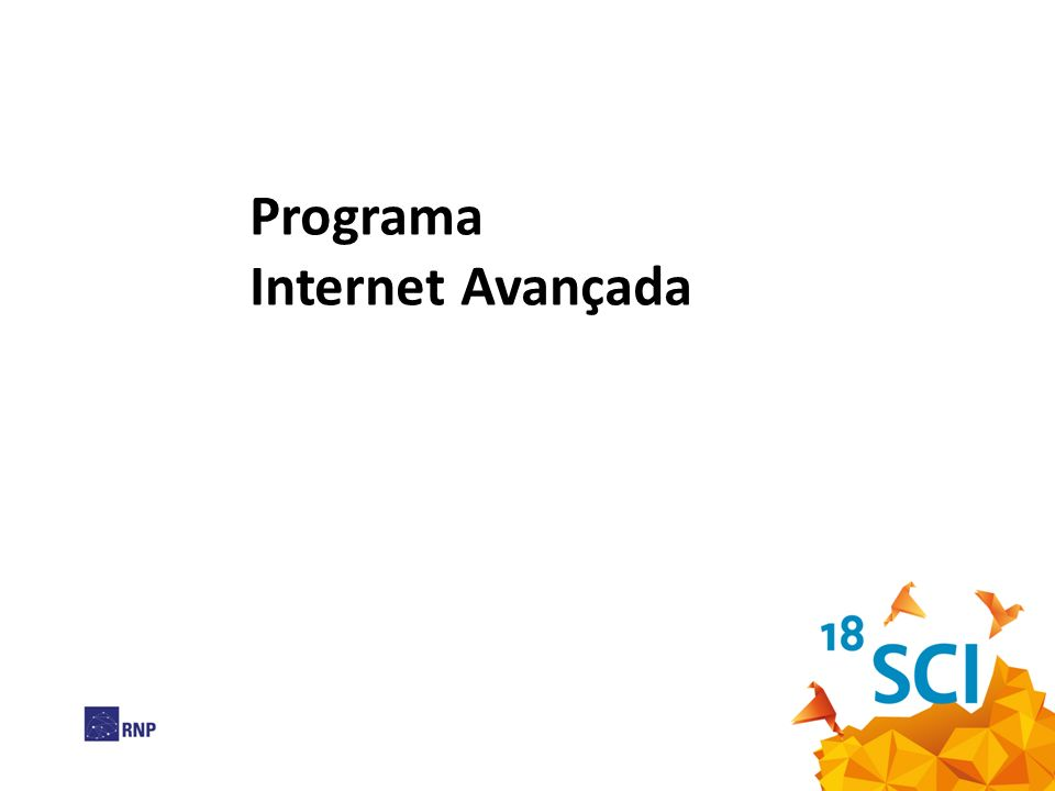 Programa Internet Avançada