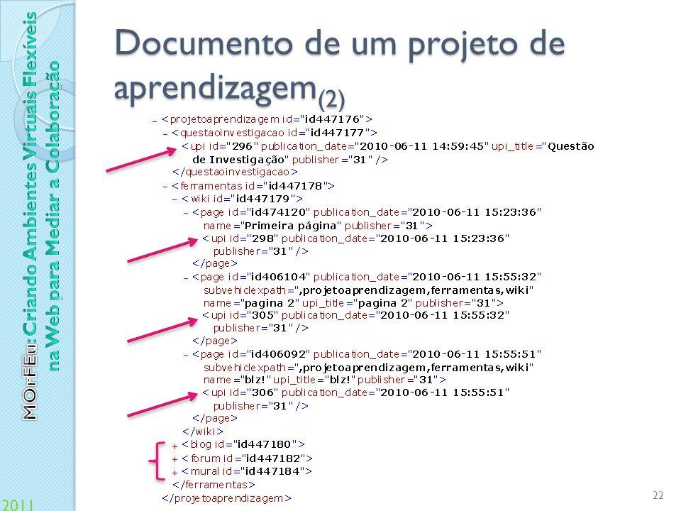 Documento de um projeto de aprendizagem(2)