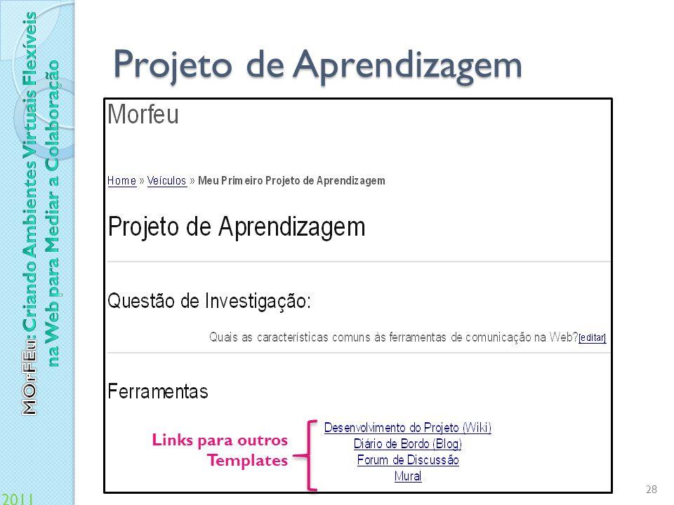Projeto de Aprendizagem