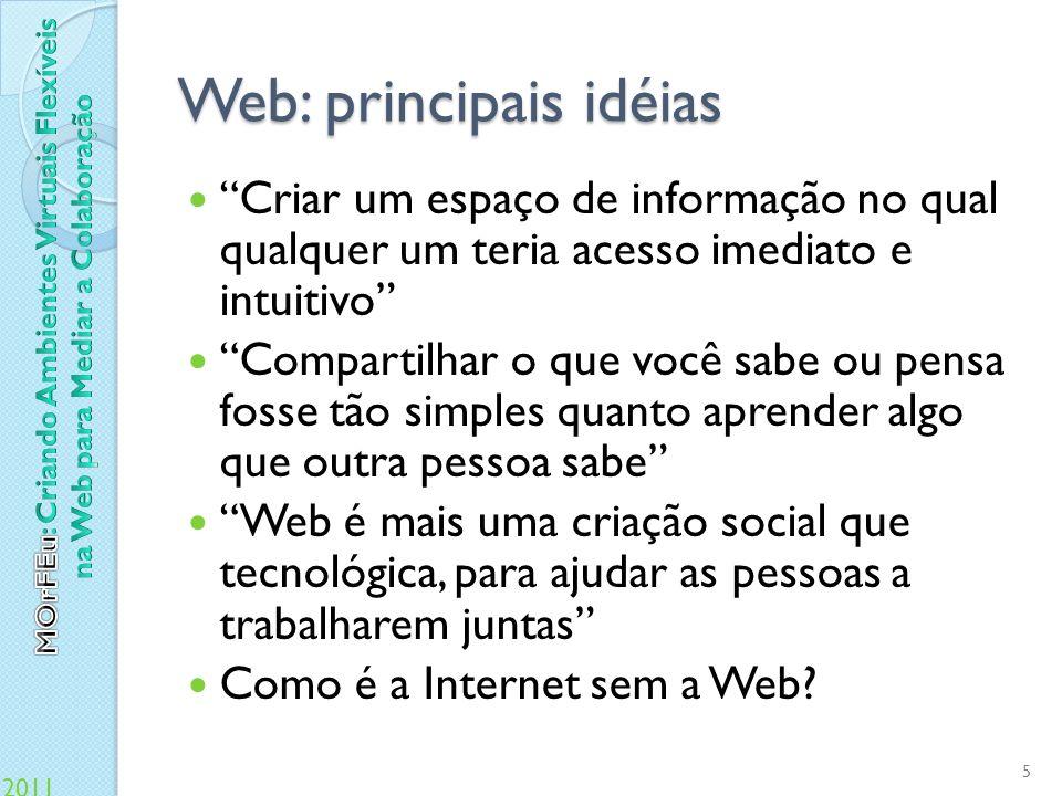 Web: principais idéias