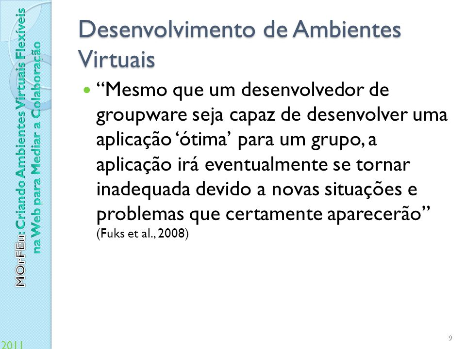 Desenvolvimento de Ambientes Virtuais