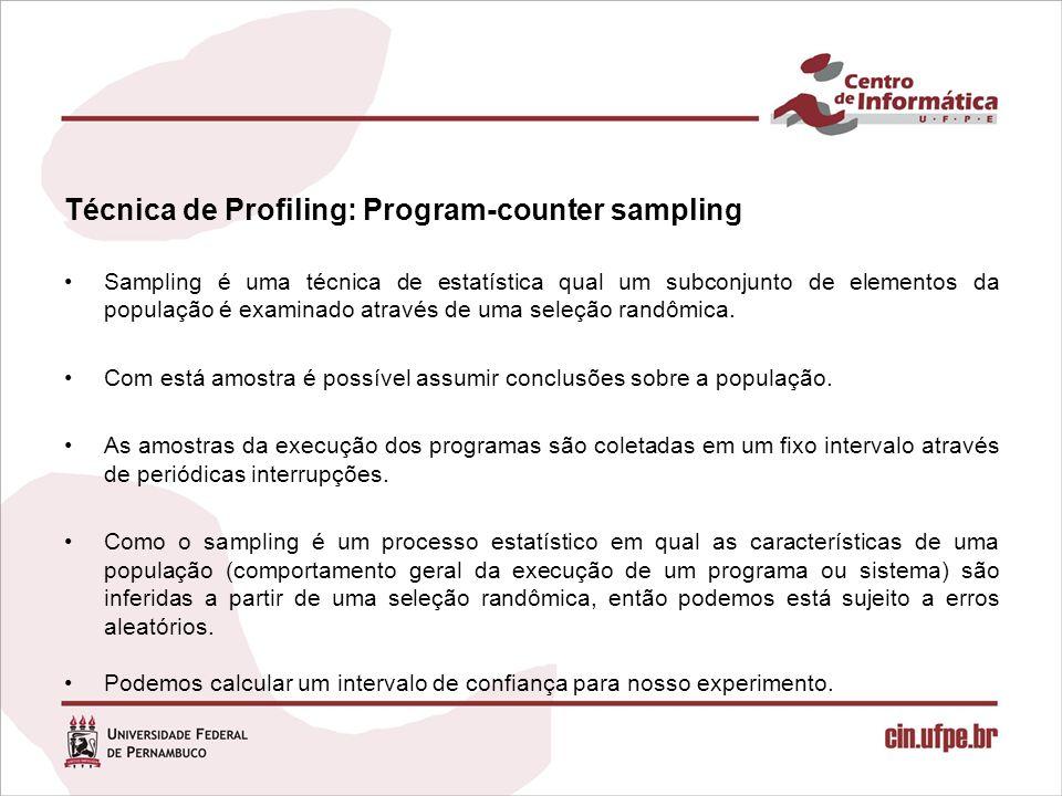 Técnica de Profiling: Program-counter sampling