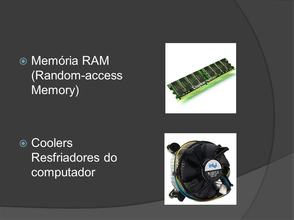 Memória RAM (Random-access Memory)