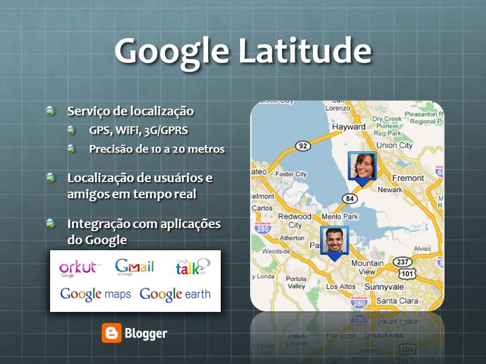 Google Latitude Serviço de localização