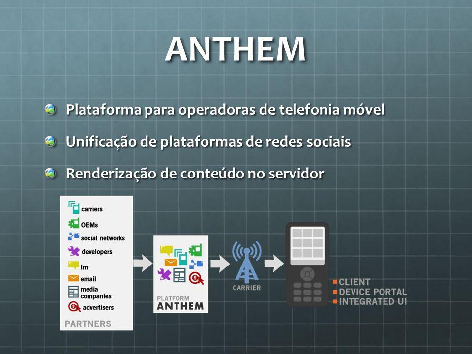 ANTHEM Plataforma para operadoras de telefonia móvel