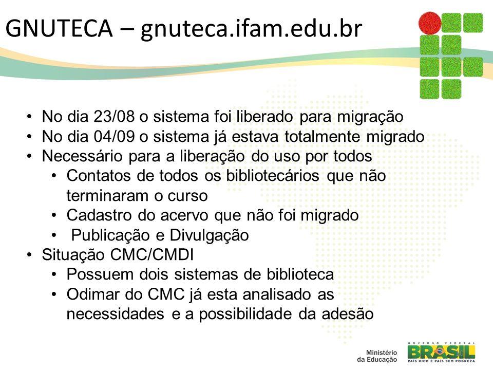 GNUTECA – gnuteca.ifam.edu.br