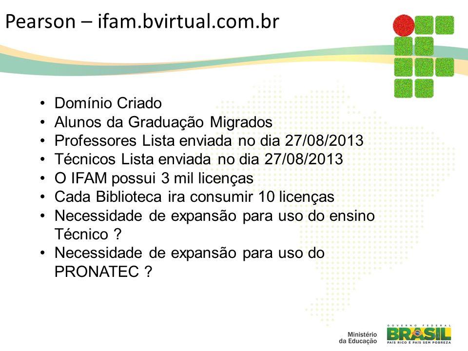 Pearson – ifam.bvirtual.com.br