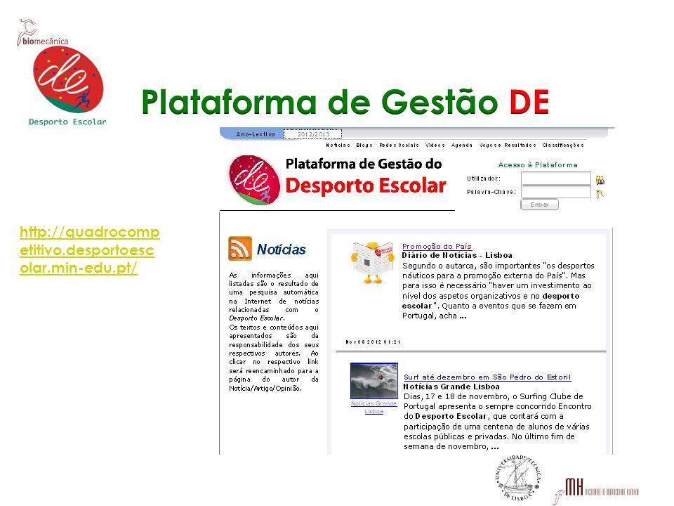 Plataforma de Gestão DE