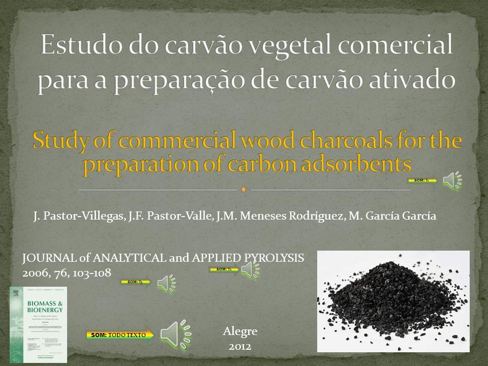 Estudo do carvão vegetal comercial para a preparação de carvão ativado