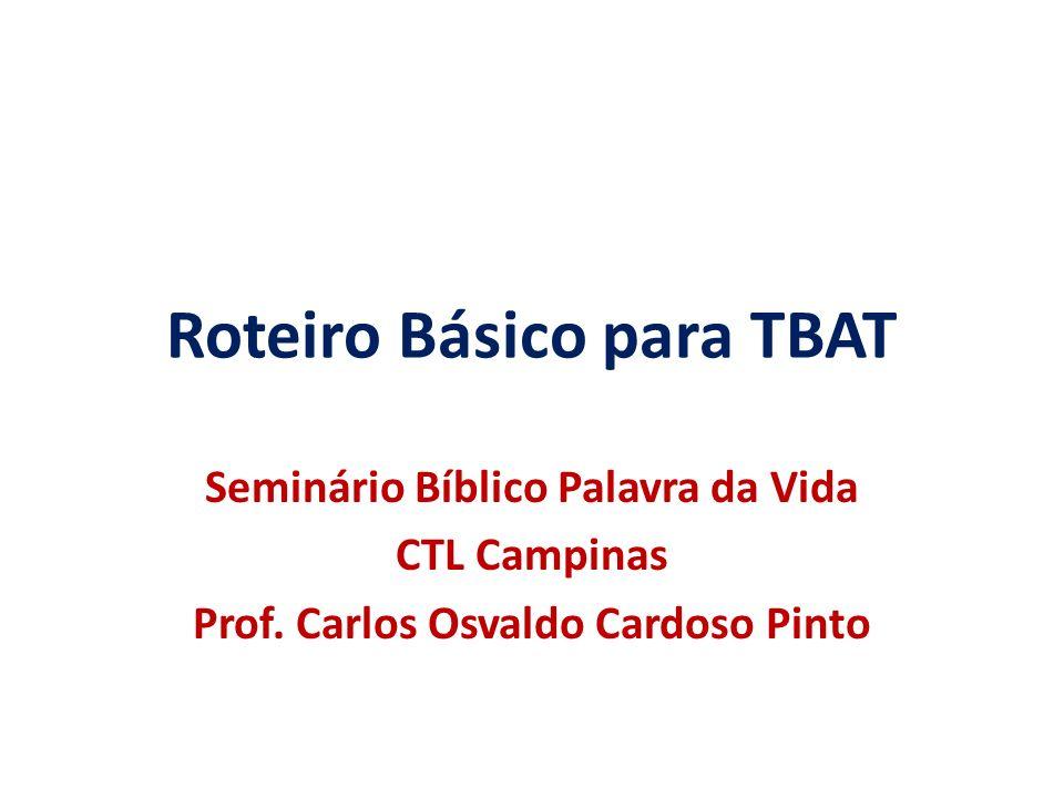 Roteiro Básico para TBAT