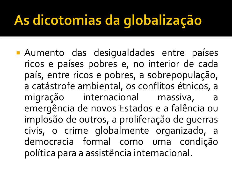 As dicotomias da globalização