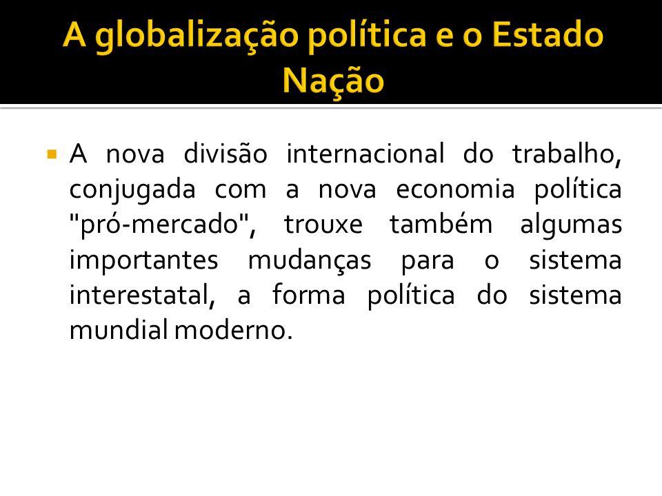 A globalização política e o Estado Nação