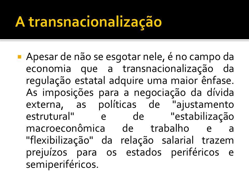 A transnacionalização