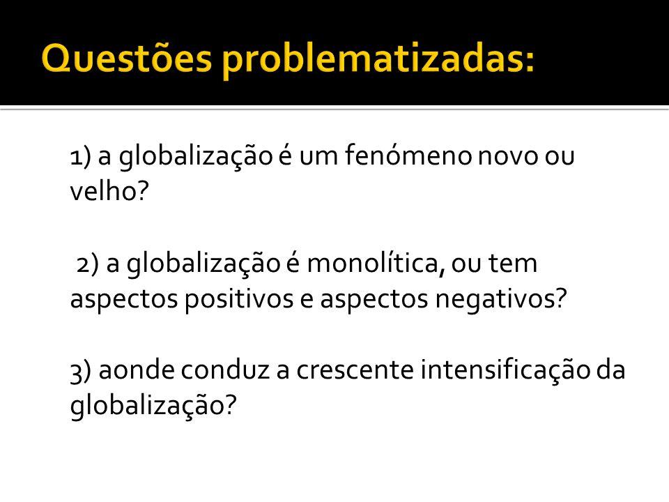 Questões problematizadas: