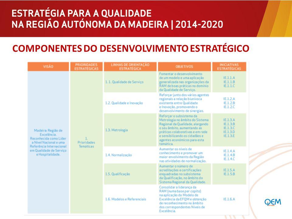 Componentes do Desenvolvimento Estratégico