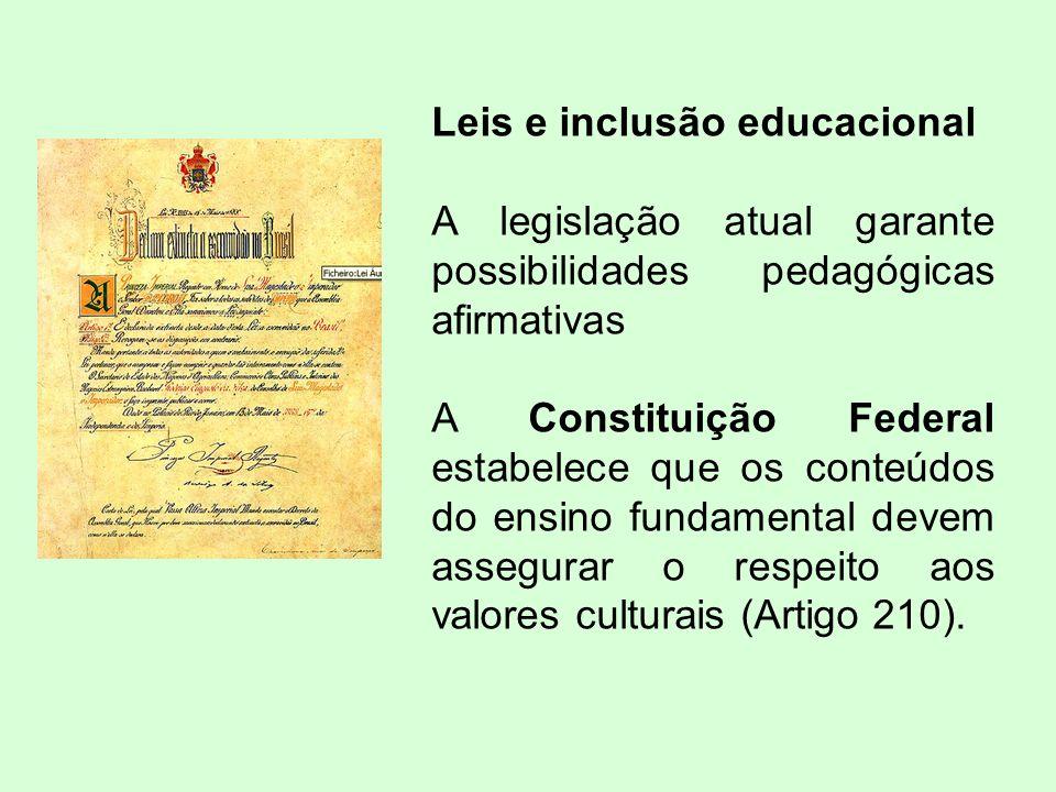 Leis e inclusão educacional