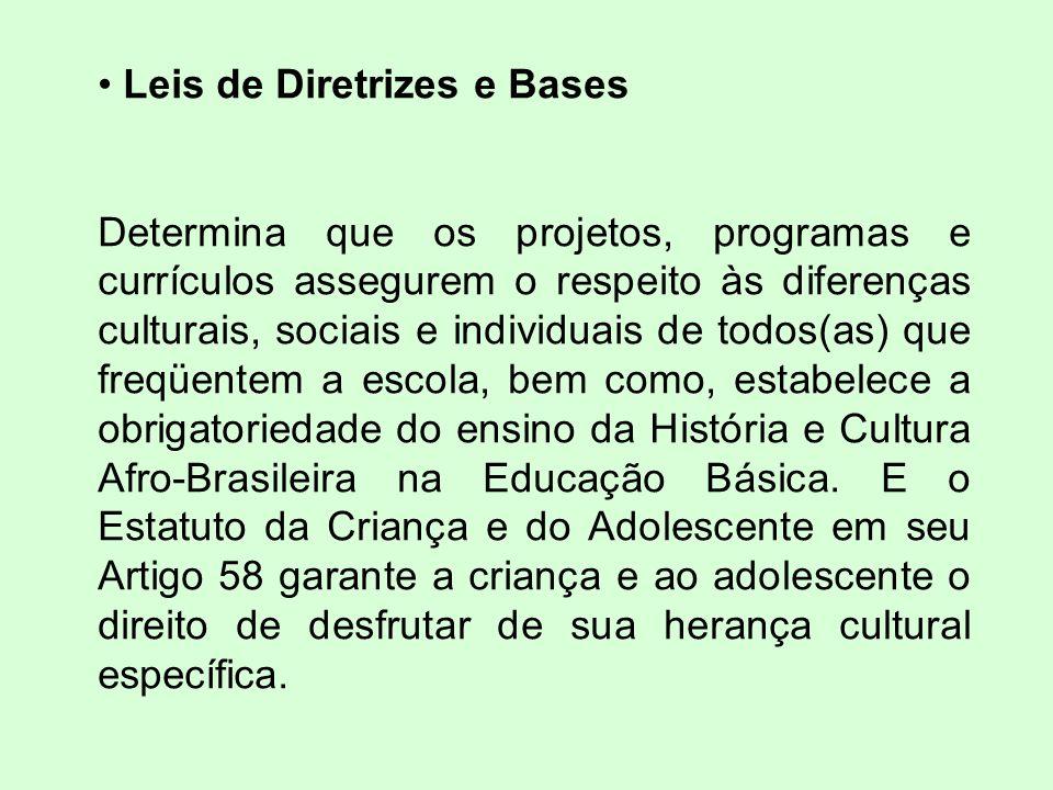 Leis de Diretrizes e Bases