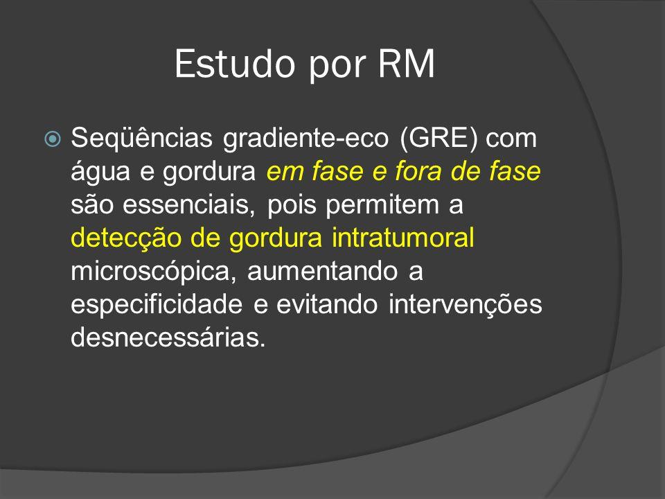 Estudo por RM