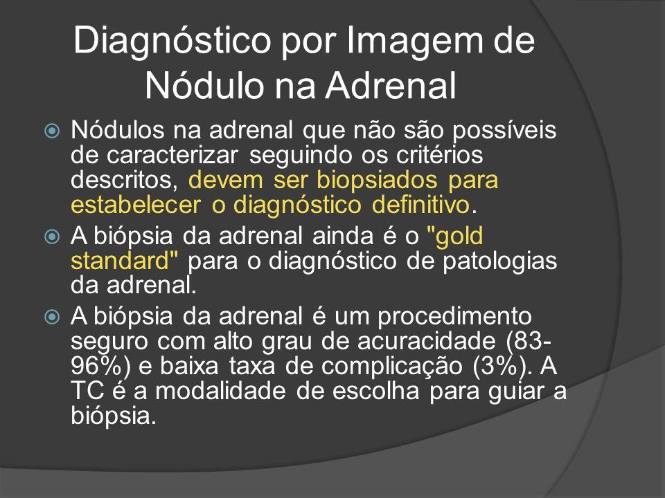 Diagnóstico por Imagem de Nódulo na Adrenal