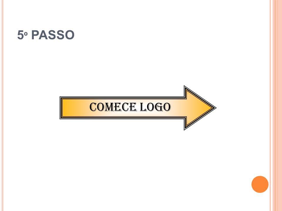 5º PASSO COMECE LOGO