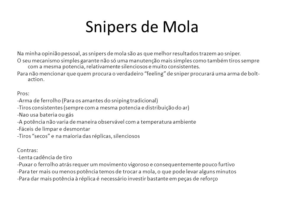 Snipers de Mola