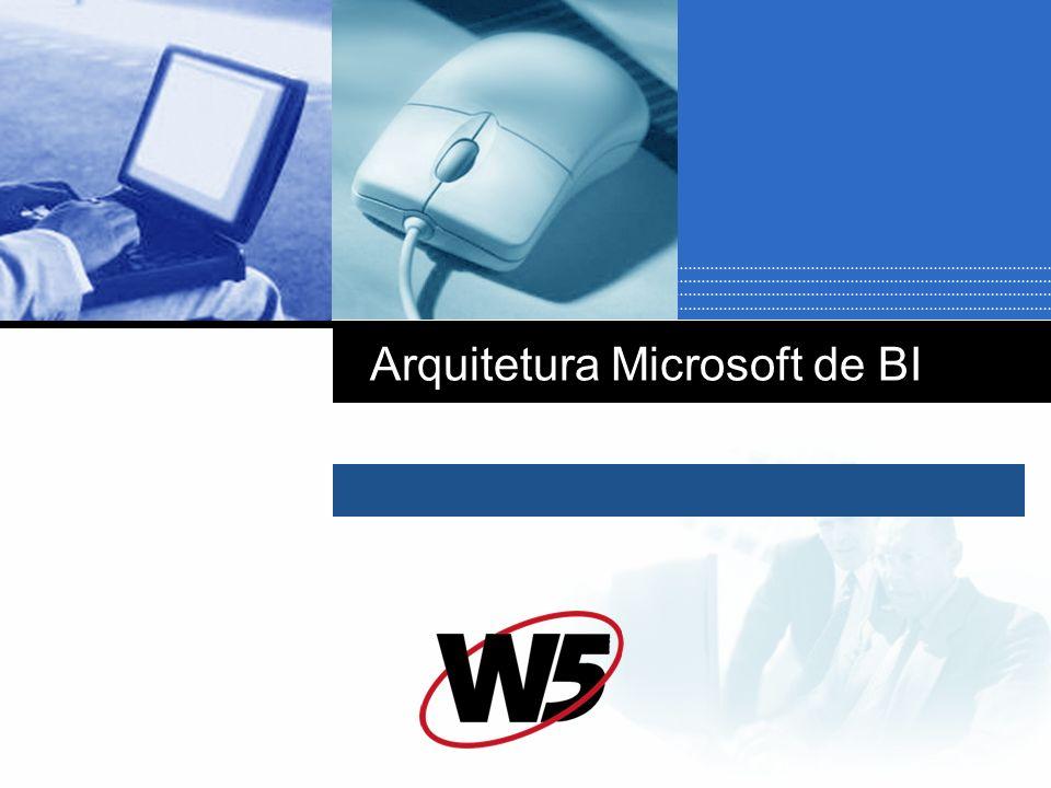 Arquitetura Microsoft de BI