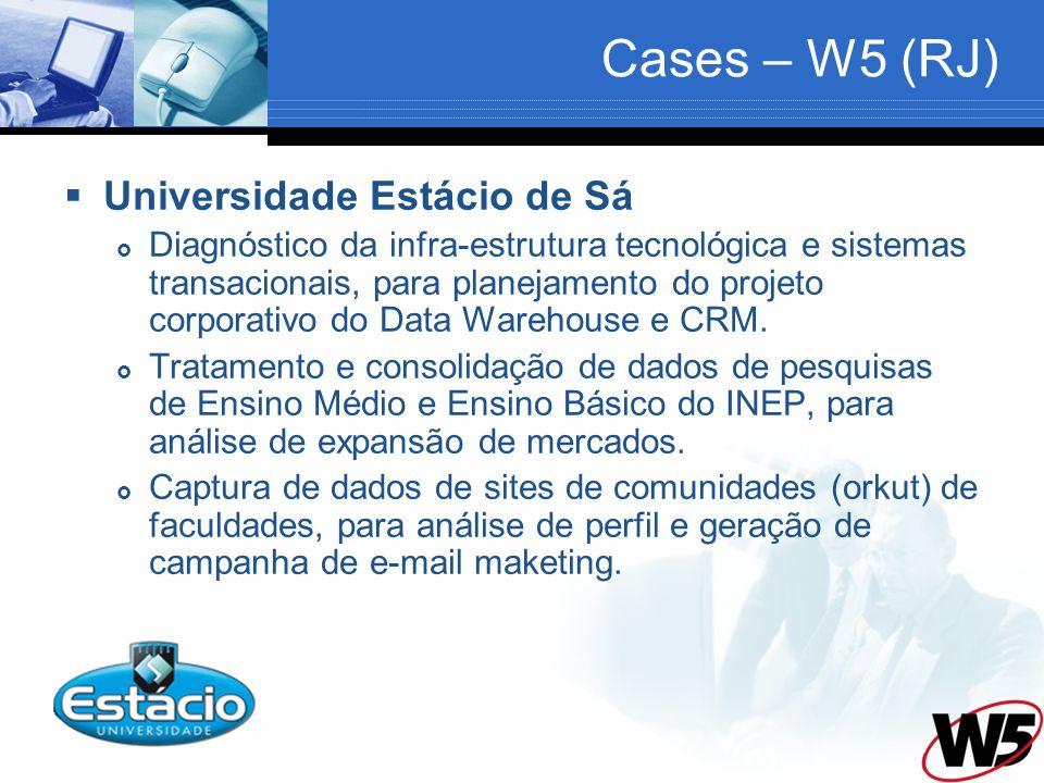 Cases – W5 (RJ) Universidade Estácio de Sá