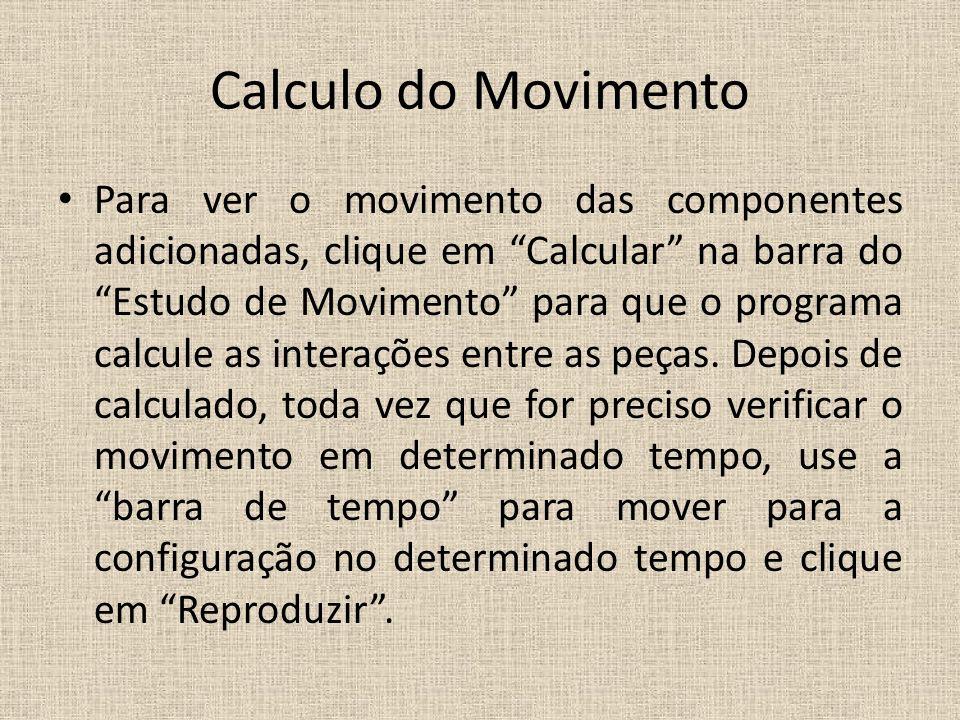 Calculo do Movimento