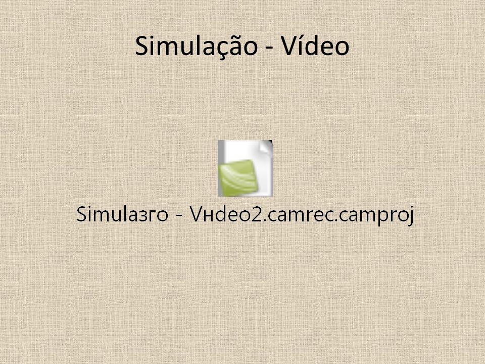 Simulação - Vídeo