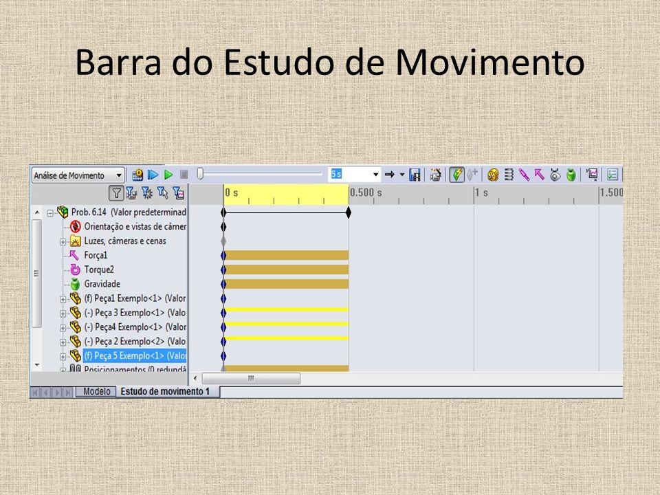 Barra do Estudo de Movimento