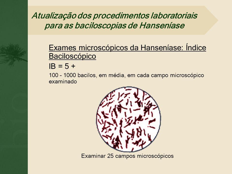 Examinar 25 campos microscópicos