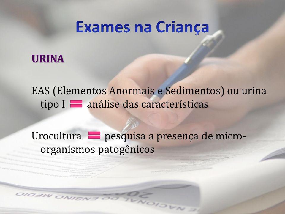 Exames na Criança