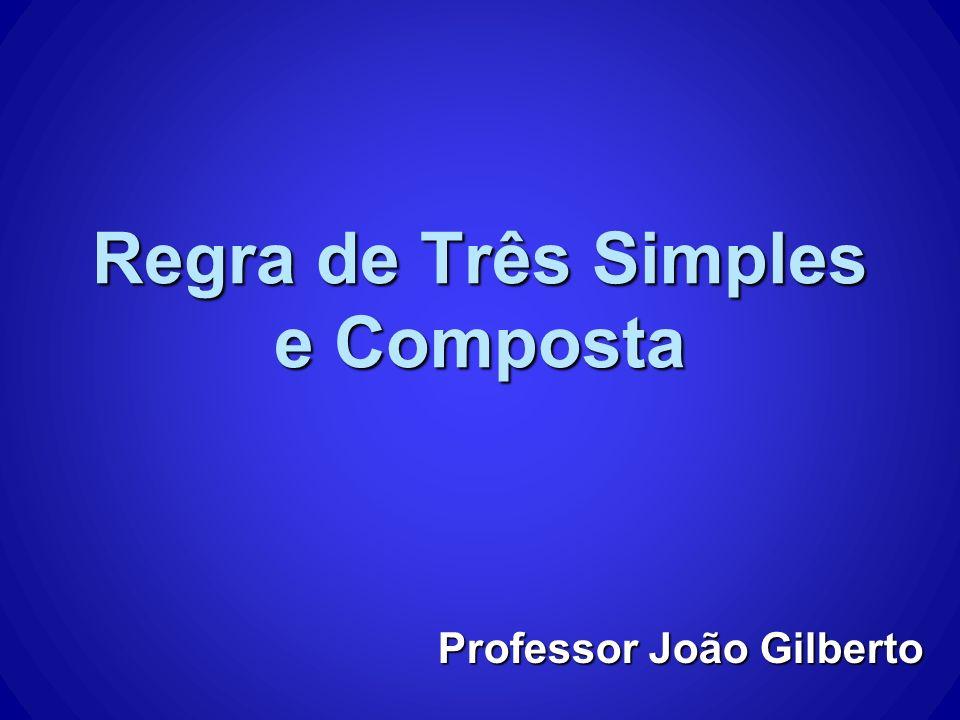 Regra de Três Simples e Composta