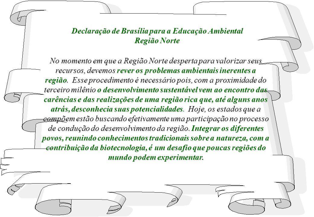 Declaração de Brasília para a Educação Ambiental