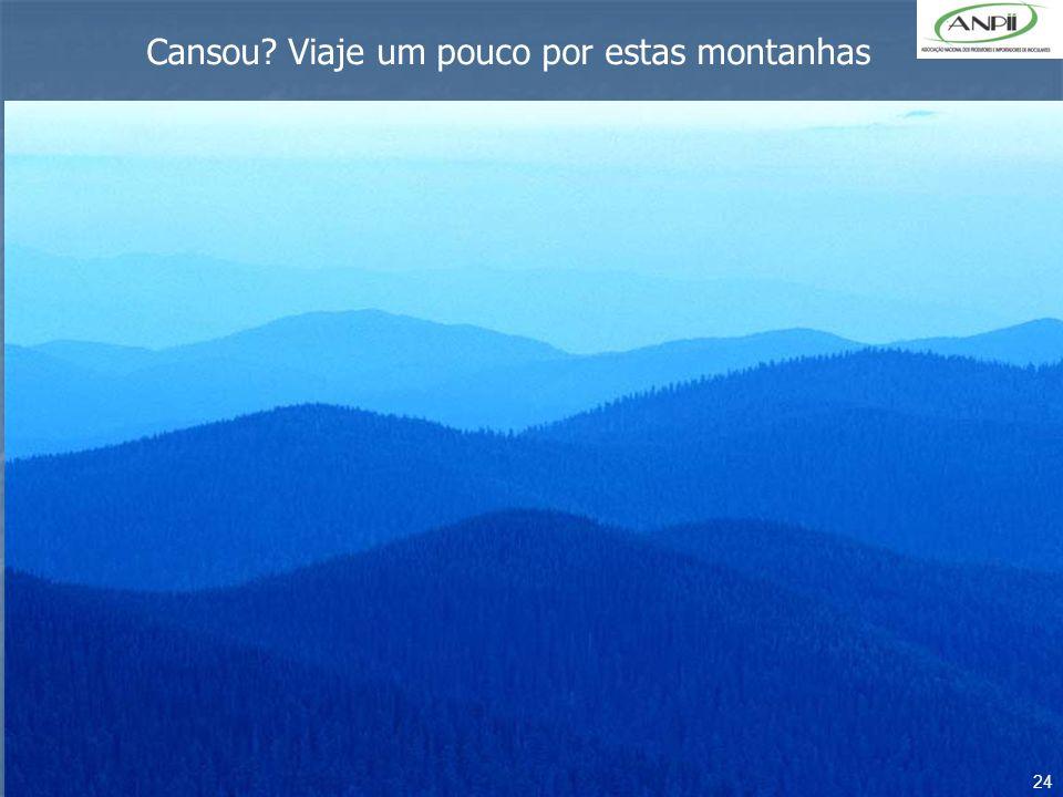 Cansou Viaje um pouco por estas montanhas