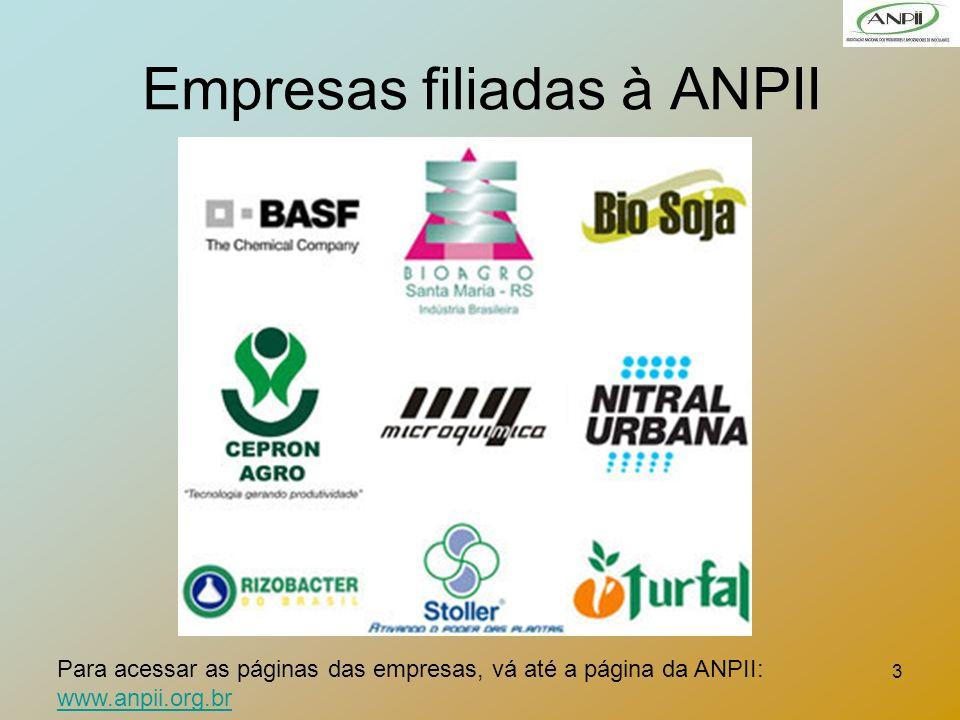 Empresas filiadas à ANPII