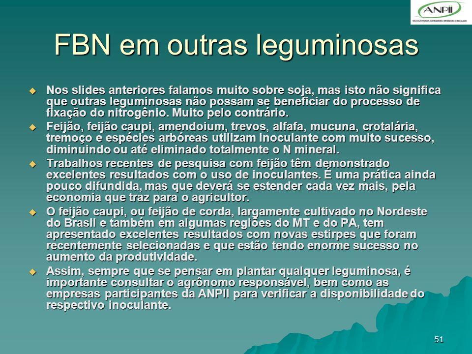 FBN em outras leguminosas