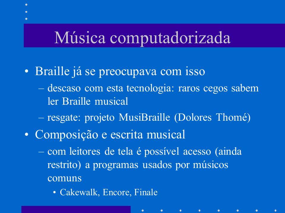Música computadorizada