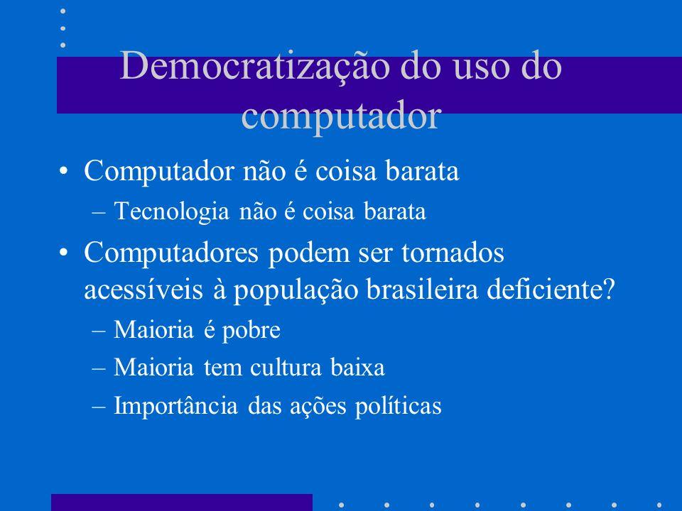 Democratização do uso do computador