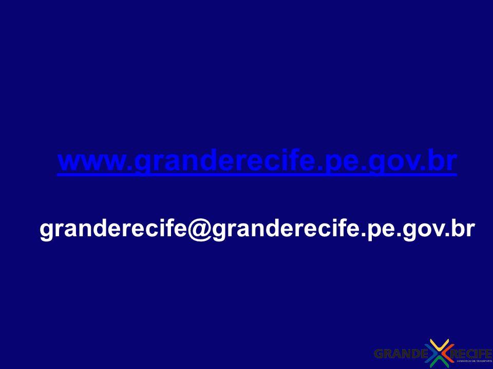 www.granderecife.pe.gov.br granderecife@granderecife.pe.gov.br