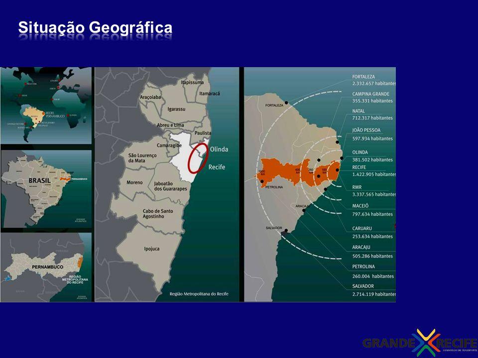 Situação Geográfica ___________300 km ___________800 km 4 capitais