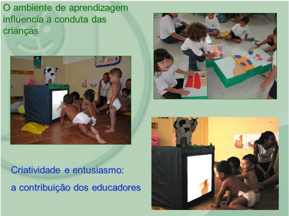 O ambiente de aprendizagem influencia a conduta das crianças