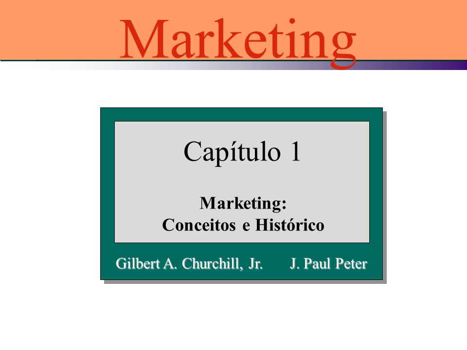 Marketing: Conceitos e Histórico
