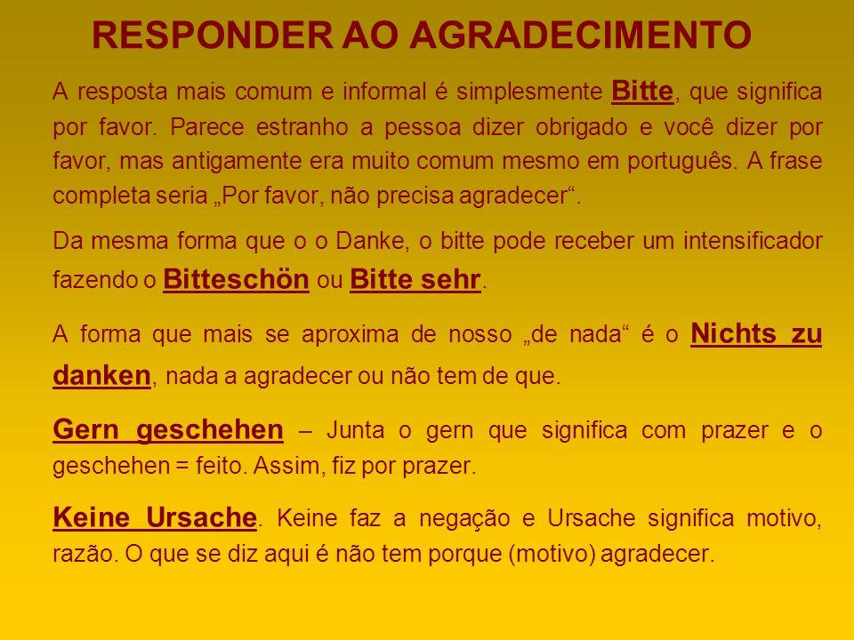 RESPONDER AO AGRADECIMENTO